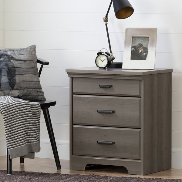 Versa 3 Drawer Nightstand by South Shore