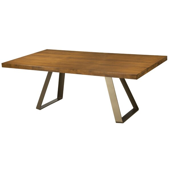 Pressley Maple Straight Edge Dining Table by Union Rustic