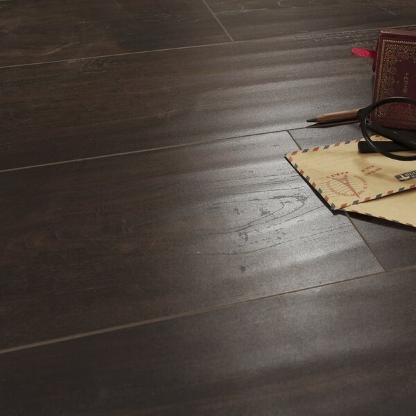 Legno 7 x 48 x 8mm Oak Laminate Flooring in Phoenix Mocha by Patina Design