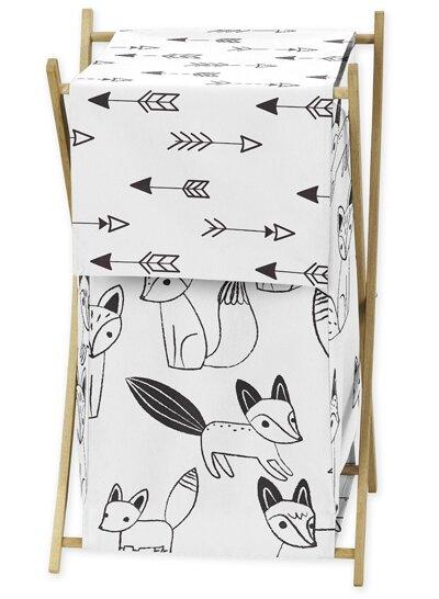Fox Laundry Hamper by Sweet Jojo Designs