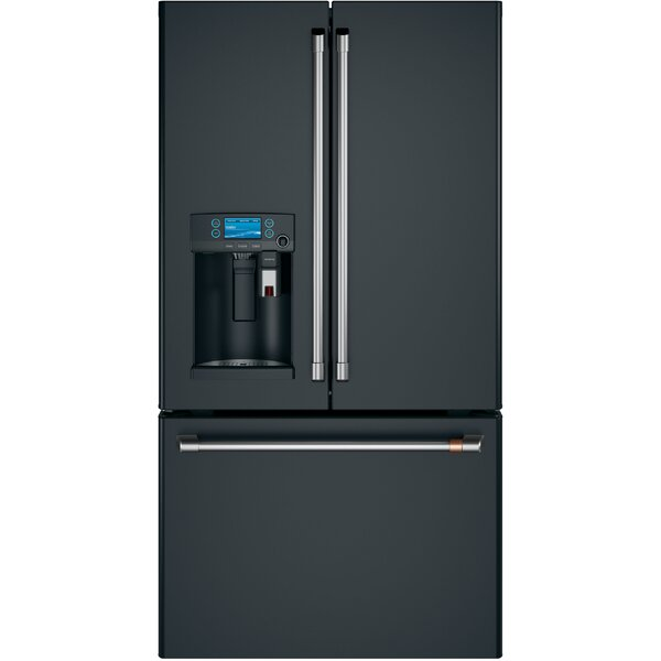 22.2 cu. ft. Counter-Depth French-Door Refrigerator with Keurig® K-Cup® Brewing System by Café™