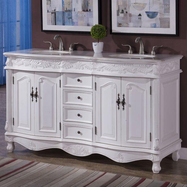 Torrey 60 Double Bathroom Vanity Set by Astoria Grand