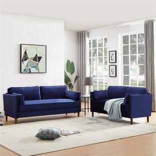 Dorriel 2 Piece Living Room Set by Red Barrel Studio®