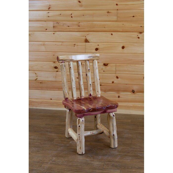 Gorgas Cedar Solid Wood Dining Chair