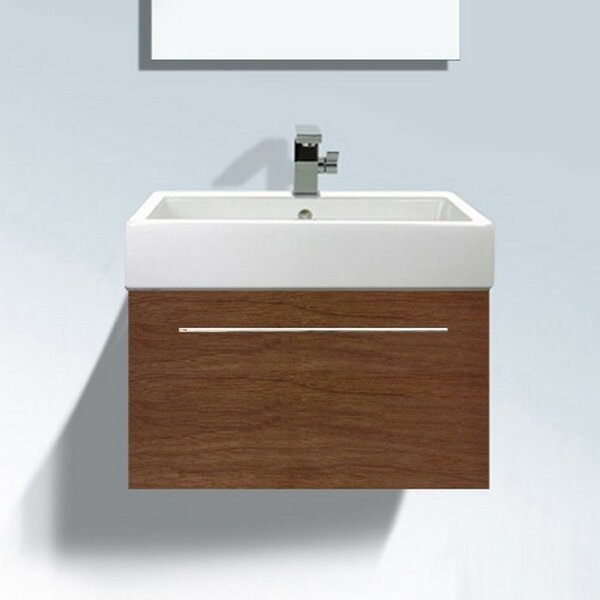Fogo 30 Wall Mounted Single Bathroom Vanity by Duravit