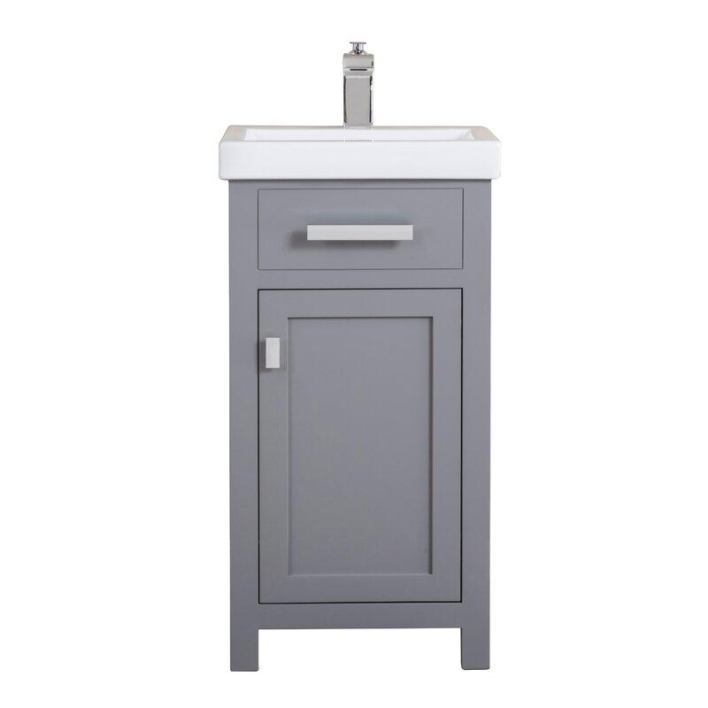 Zipcode Design Knighten 18 Quot Single Bathroom Vanity Set