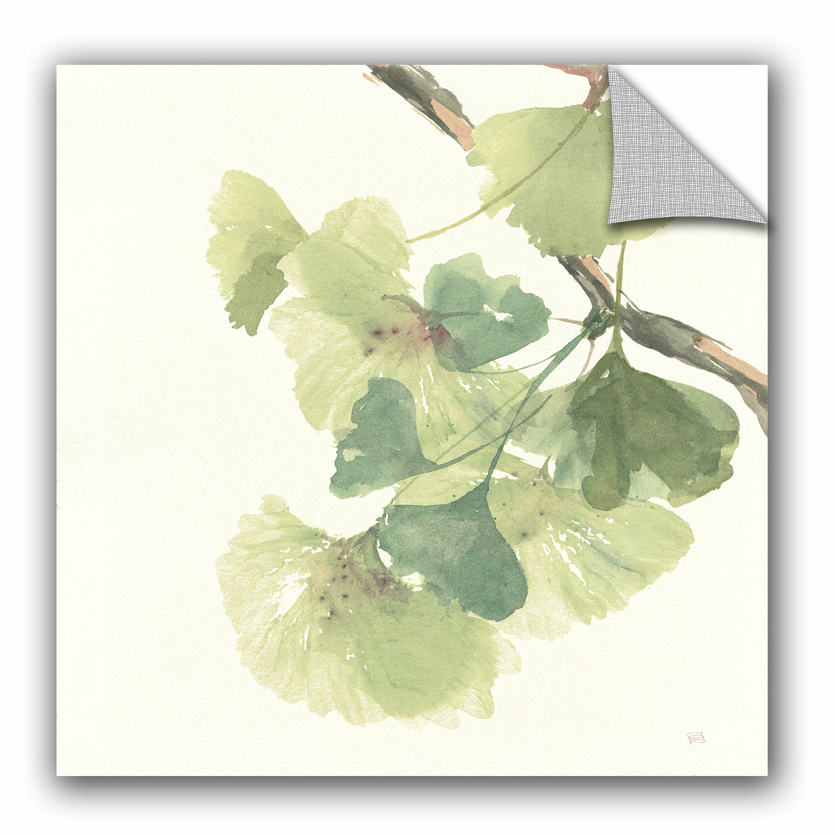 Fine Ginkgo Wall Art Component - The Wall Art Decorations ...
