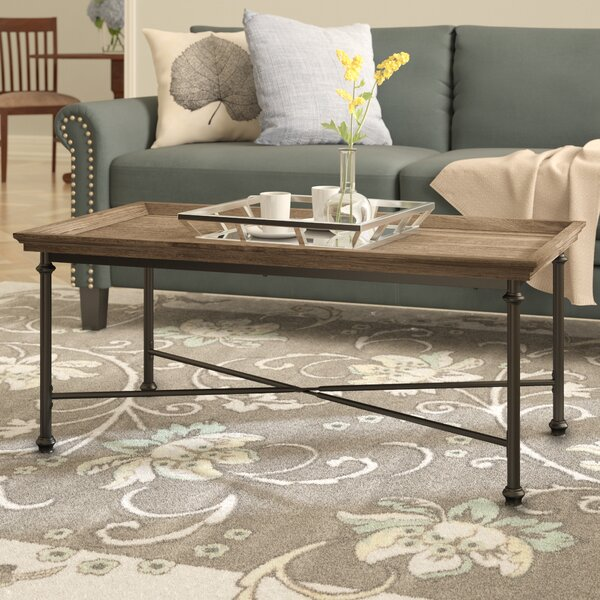 Oakside Coffee Table by Three Posts