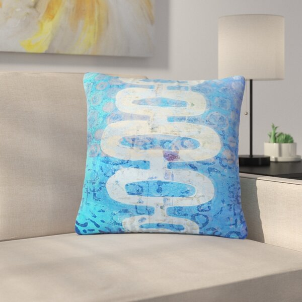 AlyZen Moonshadow Arcane 1 Abstract Outdoor Throw Pillow by East Urban Home