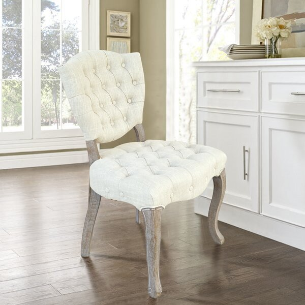 Gelueck Upholstered Dining Chair (Set of 2) by One Allium Way