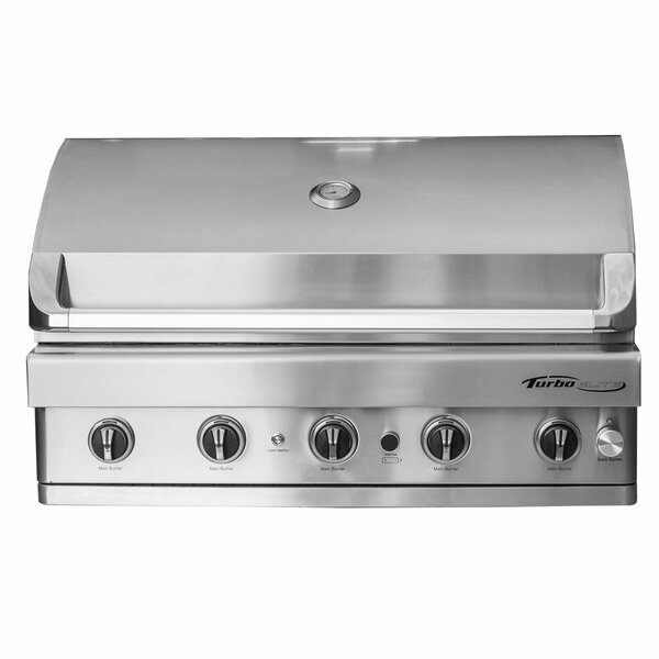 Turbo Elite 5-Burner Built-In Gas Grill by Barbequ