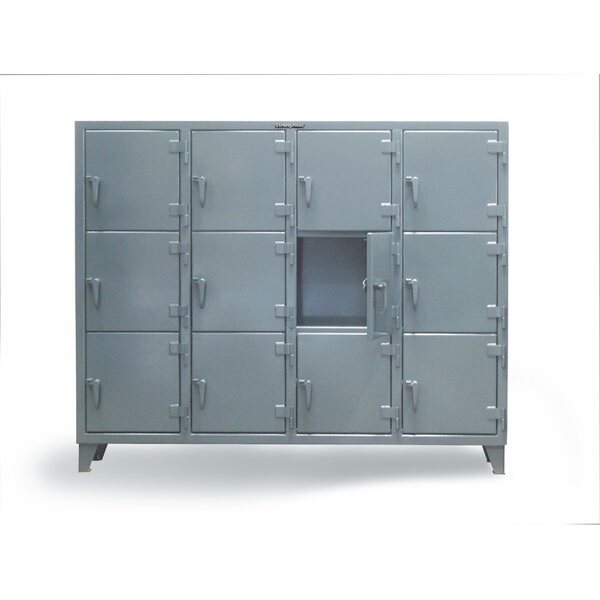 3 Tier 4 Wide Employee Locker by Strong Hold Products