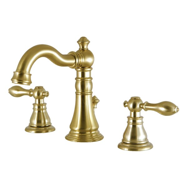 Victorian Widespread Bathroom Faucet with Drain Assembly