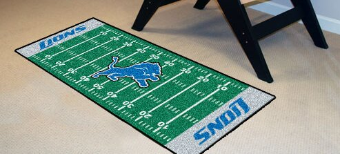 NFL - Detroit Lions Football Field Runner by FANMATS