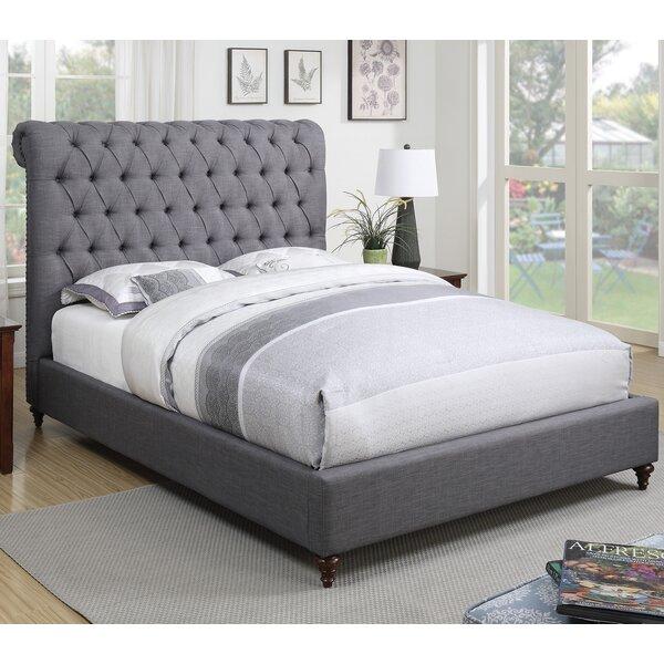 Jarratt Upholstered Bed by Greyleigh
