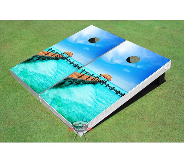 Long Dock Cornhole Board (Set of 2) by All American Tailgate