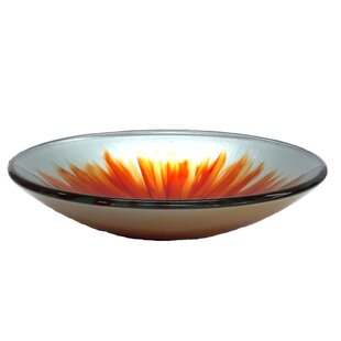Top Reviews Blossom Glass Circular Vessel Bathroom Sink ByEden Bath