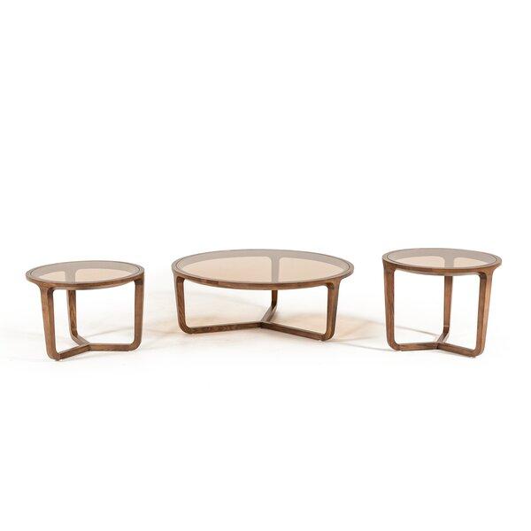 Croxton 3 Piece Coffee Table Set by Corrigan Studio