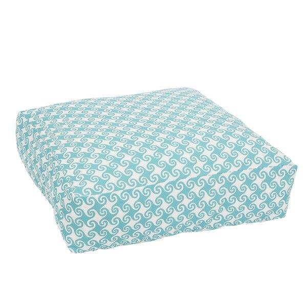 Estelle Knifed Edge Indoor/Outdoor Floor Pillow by Bayou Breeze