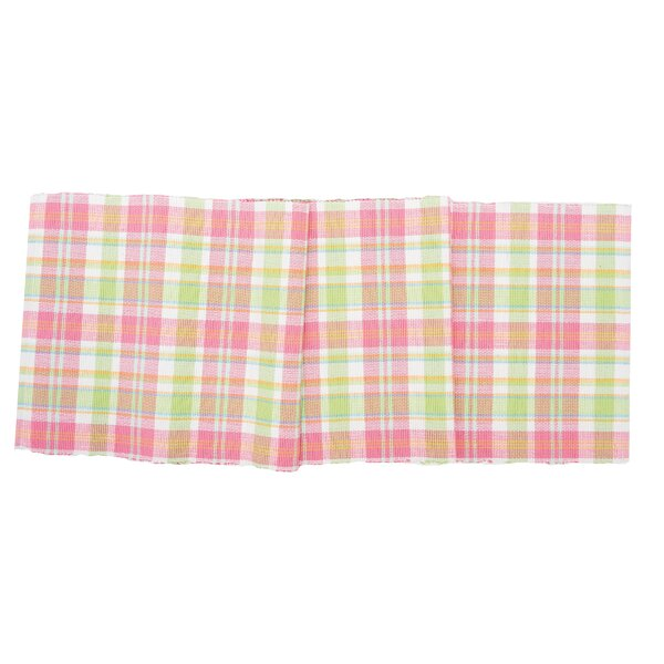Elsa Plaid Table Runner by Bayou Breeze