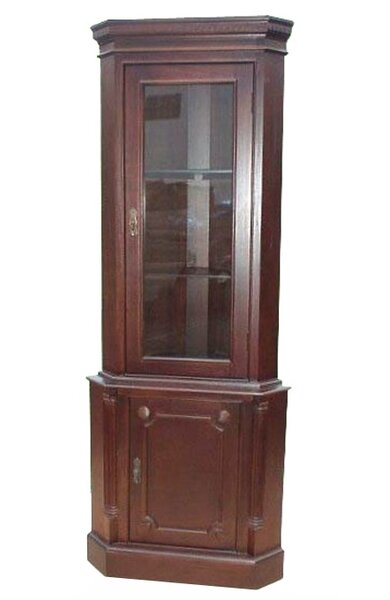 Corner China Cabinet By D-Art Collection Spacial Price
