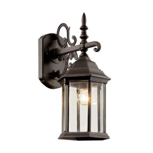 Looking for Savanna 1-Light Outdoor Wall Lantern By Alcott Hill