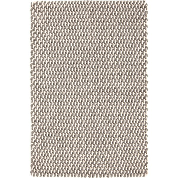 Two-Tone Rope Hand-Woven Fieldstone Indoor/Outdoor Area Rug by Dash and Albert Rugs