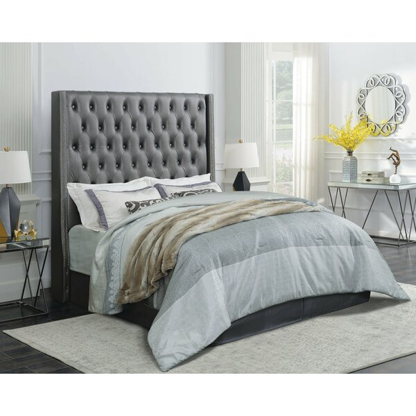 Haxby Upholstered Standard Bed By Everly Quinn by Everly Quinn 2020 Coupon