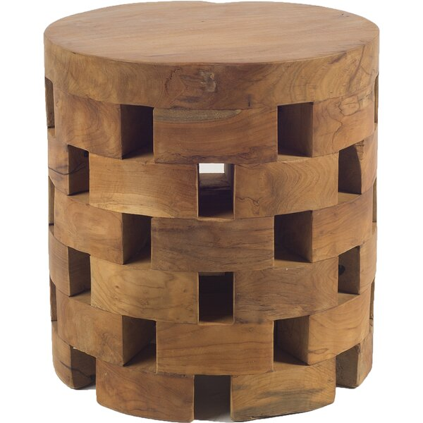 Welsh End Table by Millwood Pines