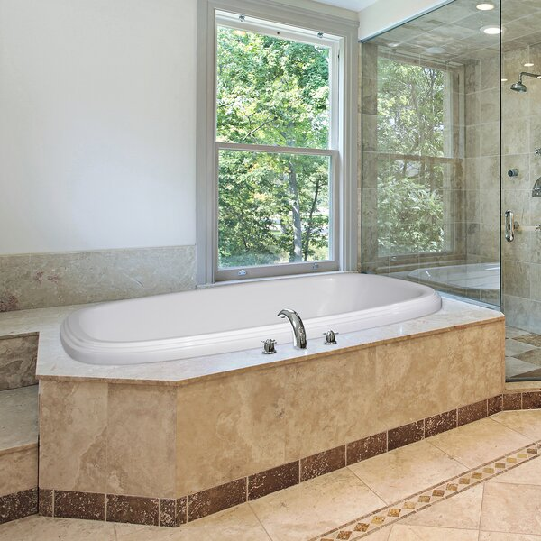 Designer Sylvia 66 x 42 Air Tub by Hydro Systems