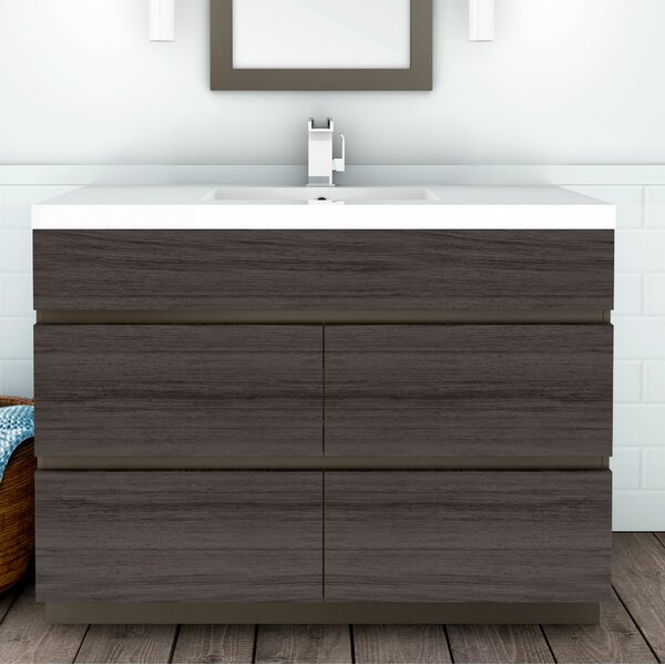 Boardwalk 48 Single Bathroom Vanity Set by Cutler Kitchen & Bath