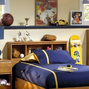 Searching for Little Treasures Twin Bookcase Headboard by South Shore
