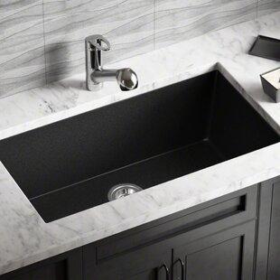 Black composite kitchen sink wayfair save to idea board workwithnaturefo