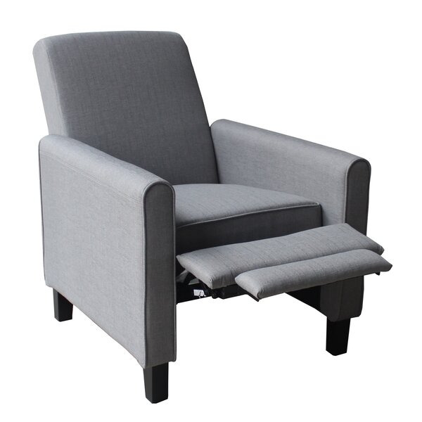 Fabric Manual Recliner by Container