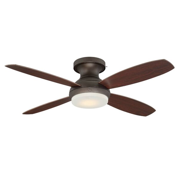 52 Skyplug Pierson 4 Blade LED Ceiling Fan with Remote by GE Lighting
