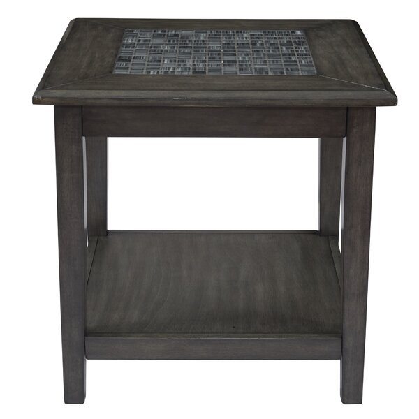 Anneri End Table By World Menagerie