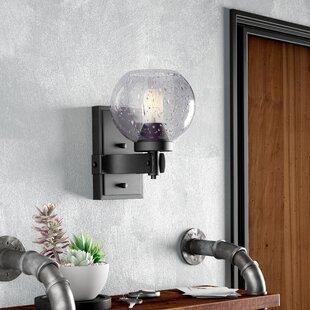 Best Price Fulton 1-Light Wall Sconce ByTrent Austin Design