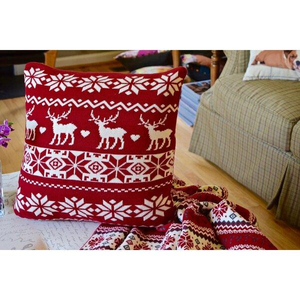 Patina Cotton Throw Pillow (Set of 2) by Debage Inc.