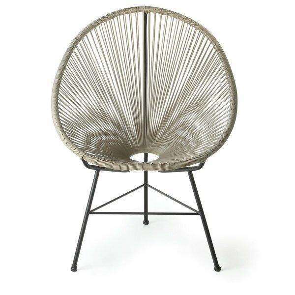 Bradley Papasan Outdoor Chair (Set of 2) by Ivy Bronx