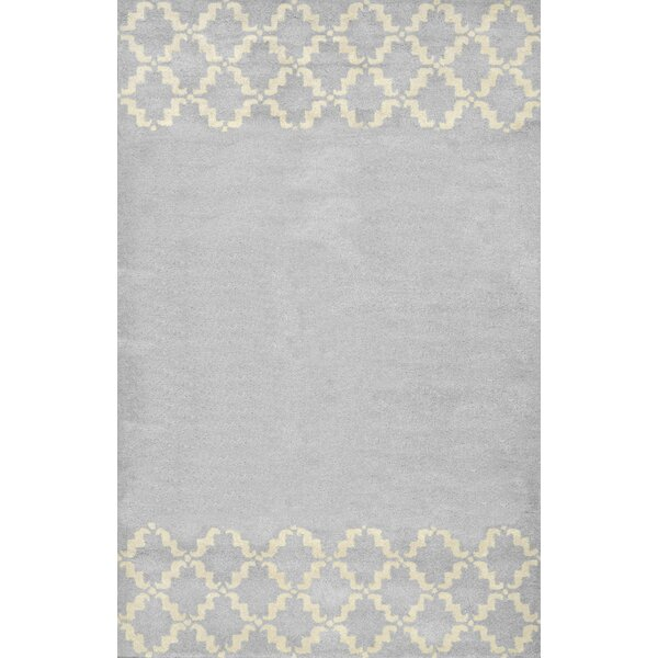 Varanas Hand-Tufted Wool Gray Area Rug by nuLOOM