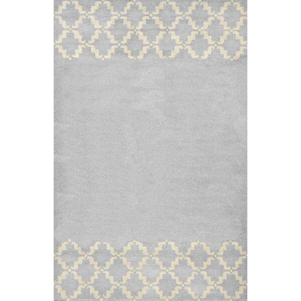 Varanas Hand-Tufted Wool Gray Area Rug by nuLOOM