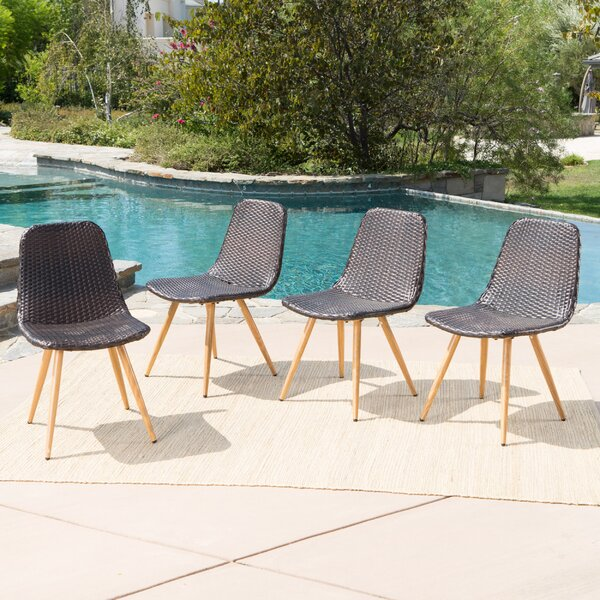 Patio Dining Chair (Set of 4) by Langley Street
