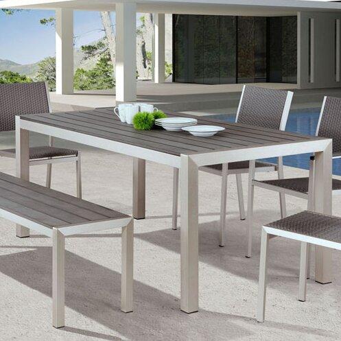 Montiel Aluminum Picnic Bench by Brayden Studio