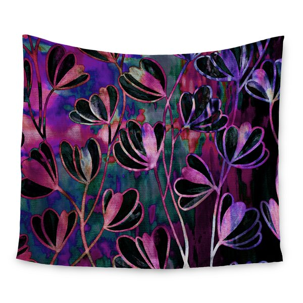 Efflorescence by Ebi Emporium Wall Tapestry by East Urban Home