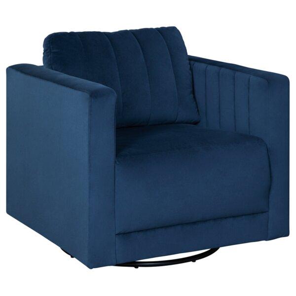 Joffe Accent Chair Swivel Armchair by Ebern Designs Ebern Designs