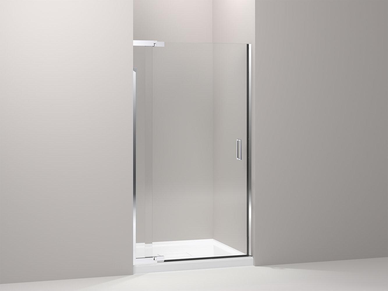 K 702013 L Bnsh Kohler Purist 42 X 72 Pivot Shower Door With