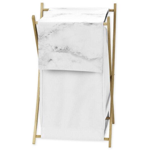 Marble Laundry Hamper by Sweet Jojo Designs
