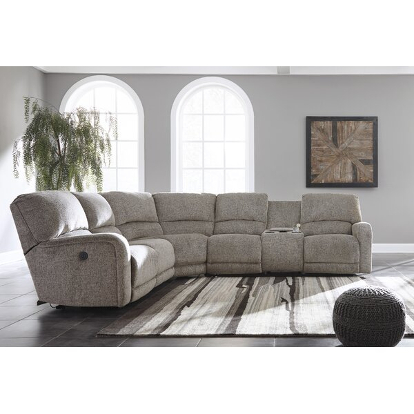 Best #1 Lowville Reclining Sectional By Alcott Hill Today Sale Only