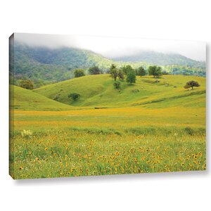 Field of Gold Photographic Print on Wrapped Canvas by Latitude Run