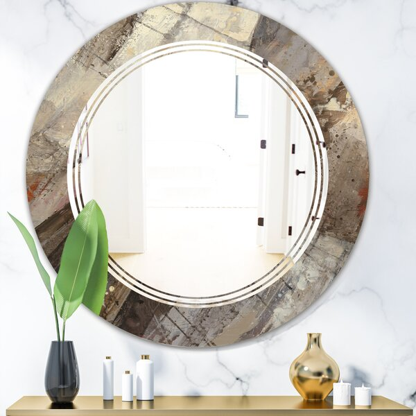 Triple C Fire and Ice Minerals III Industrial Frameless Wall Mirror